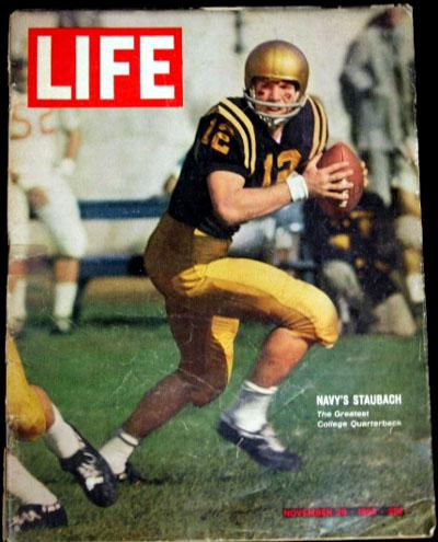 Roger Staubach Life magazine 11/29/63