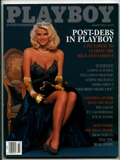 Playboy March 1992 Anna Nicole Smith cover