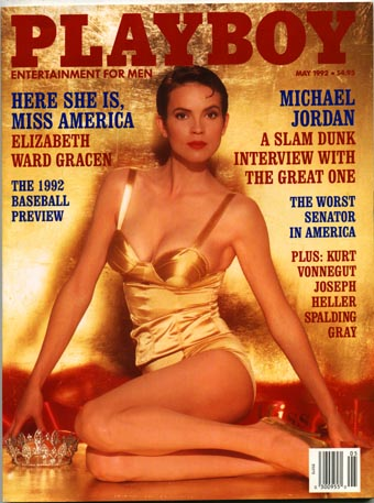 Playboy May 1992 Anna Nicole Smith playmate.